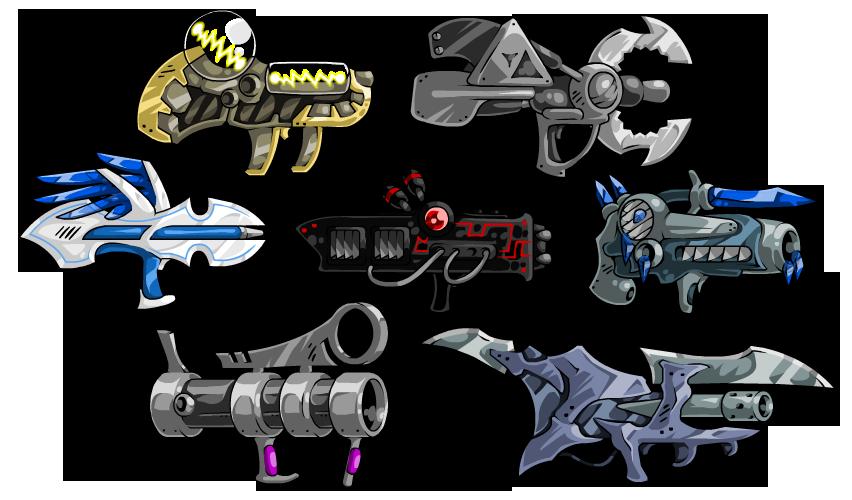 EBF5: Guns 1 by KupoGames