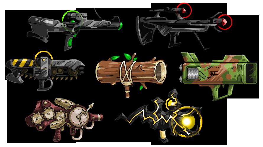 EBF5: Guns 2 by KupoGames