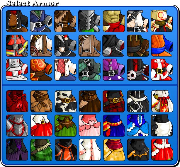 EBF5: Armor Icons by KupoGames