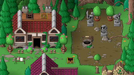 EBF5: Forest Town by KupoGames