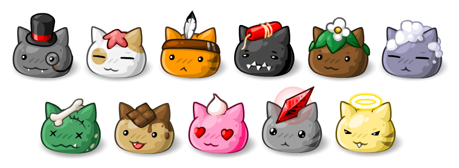 EBF5: Slime Cats by KupoGames