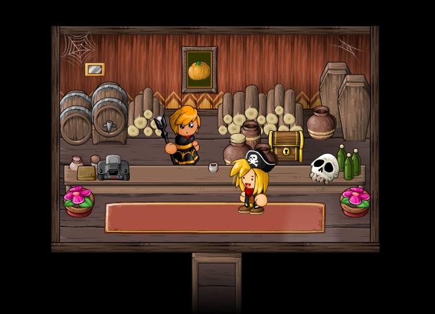 EBF5: Halloween House by KupoGames
