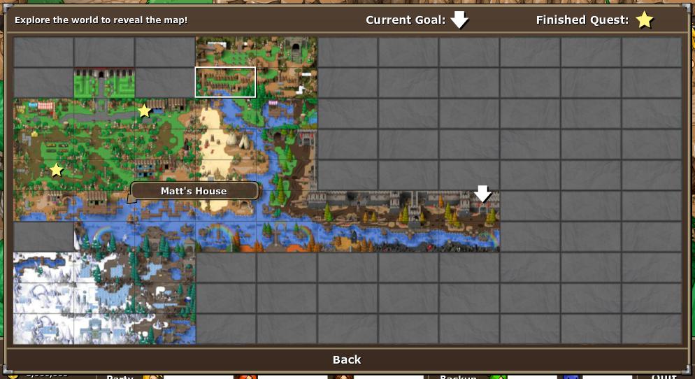 EBF5: Map Menu by KupoGames