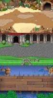 EBF5: Battle Backgrounds 1 by KupoGames