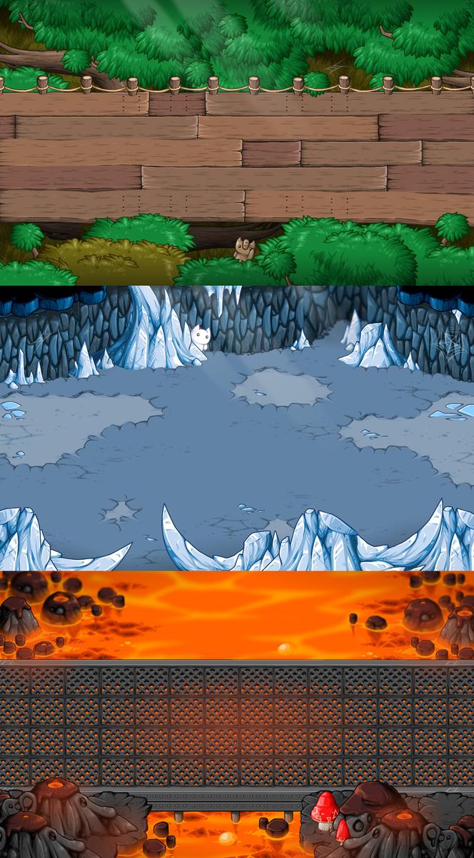 EBF5: Battle Backgrounds 2 by KupoGames
