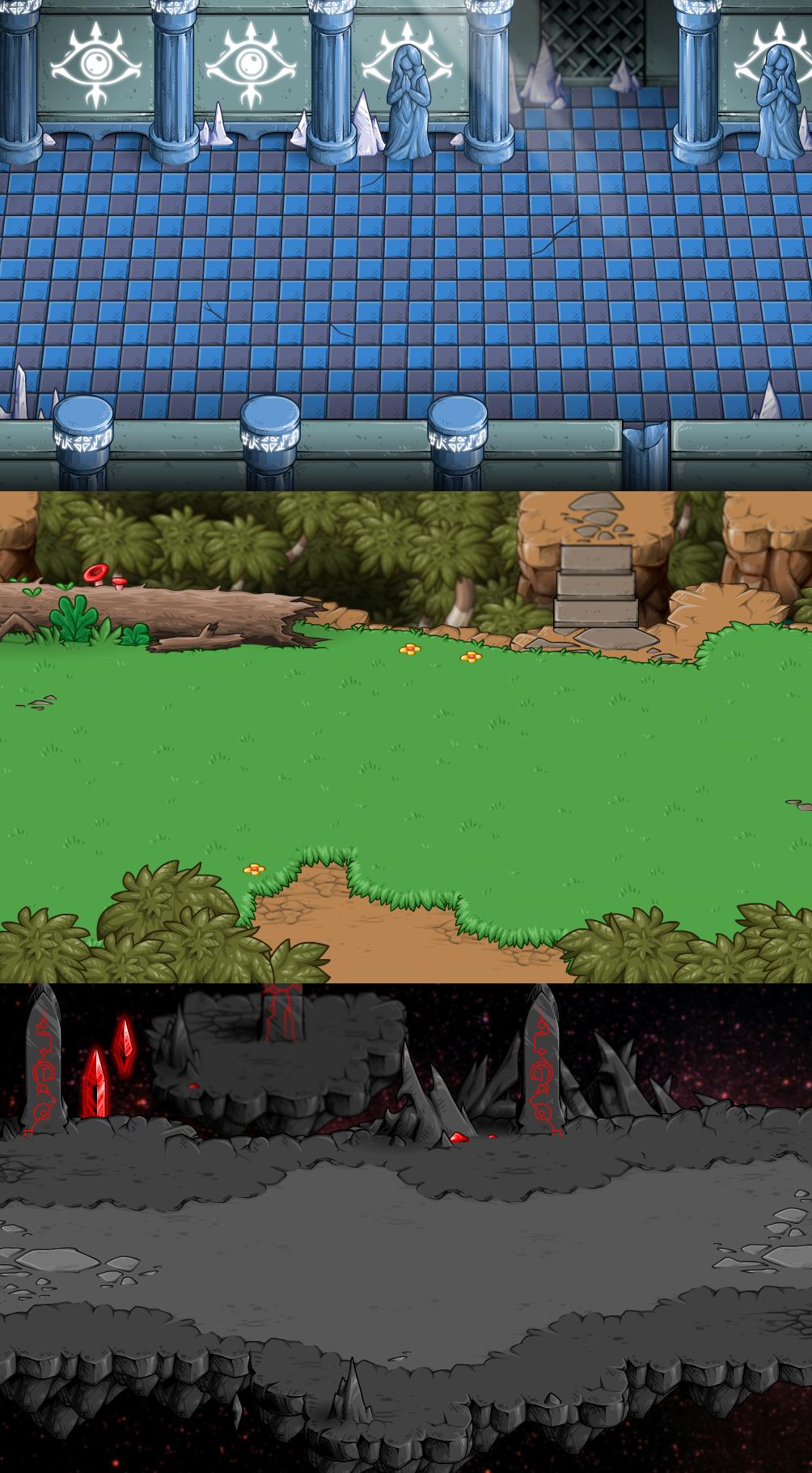 EBF5: Backgrounds 4 by KupoGames