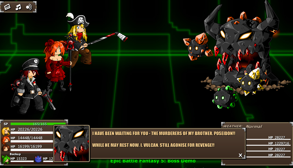 EBF5: Boss Demo by KupoGames
