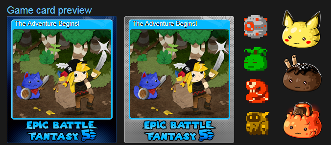 EBF5: Trading Cards by KupoGames