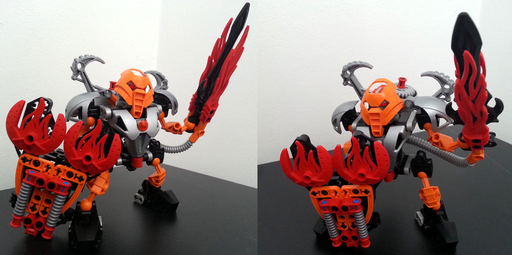 Bionicle MOCs: Fire by KupoGames
