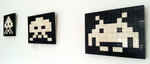 Lego Space Invaders