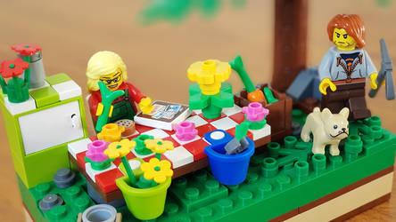 Garden Lego by KupoGames