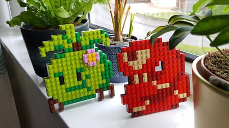 Lego Snek and Bosh by KupoGames