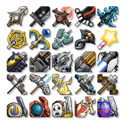 Famous Weapon Icons