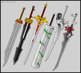 Swords by KupoGames