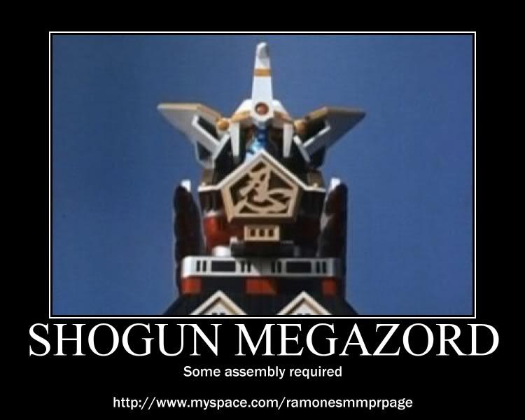 Shogun Megazord by RazorRed