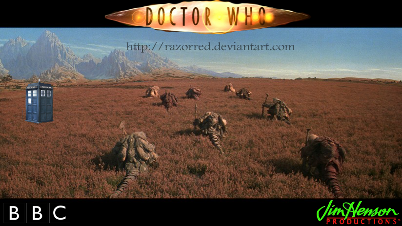 The Doctor And The Great Urru Migration by RazorRed
