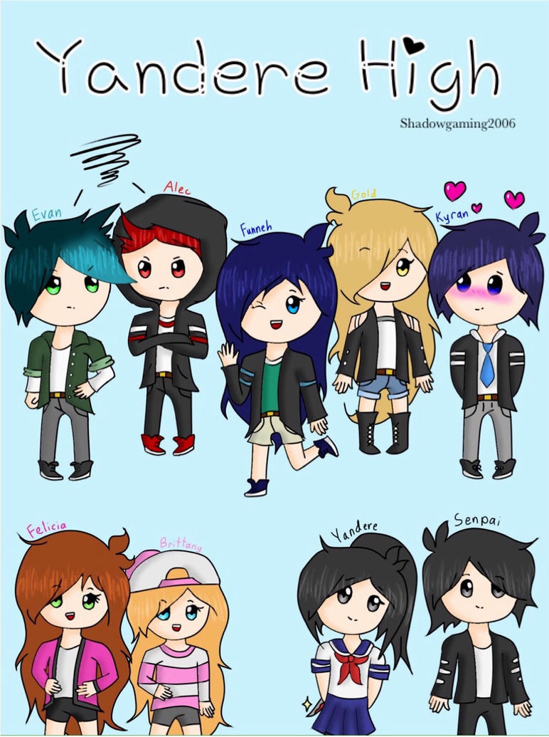how to draw itsfunneh and the crew