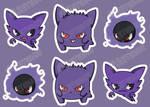 Spooky Bois Sticker Pack