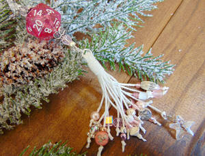 The Sugar Plum Tassel Ornament