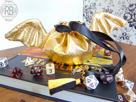 The Golden Dragon Pouch