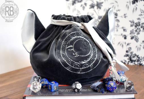 Umbra's Sack - A Cat Eared Dice Bag