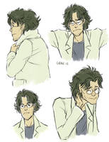 otacon - the past by andante-ace