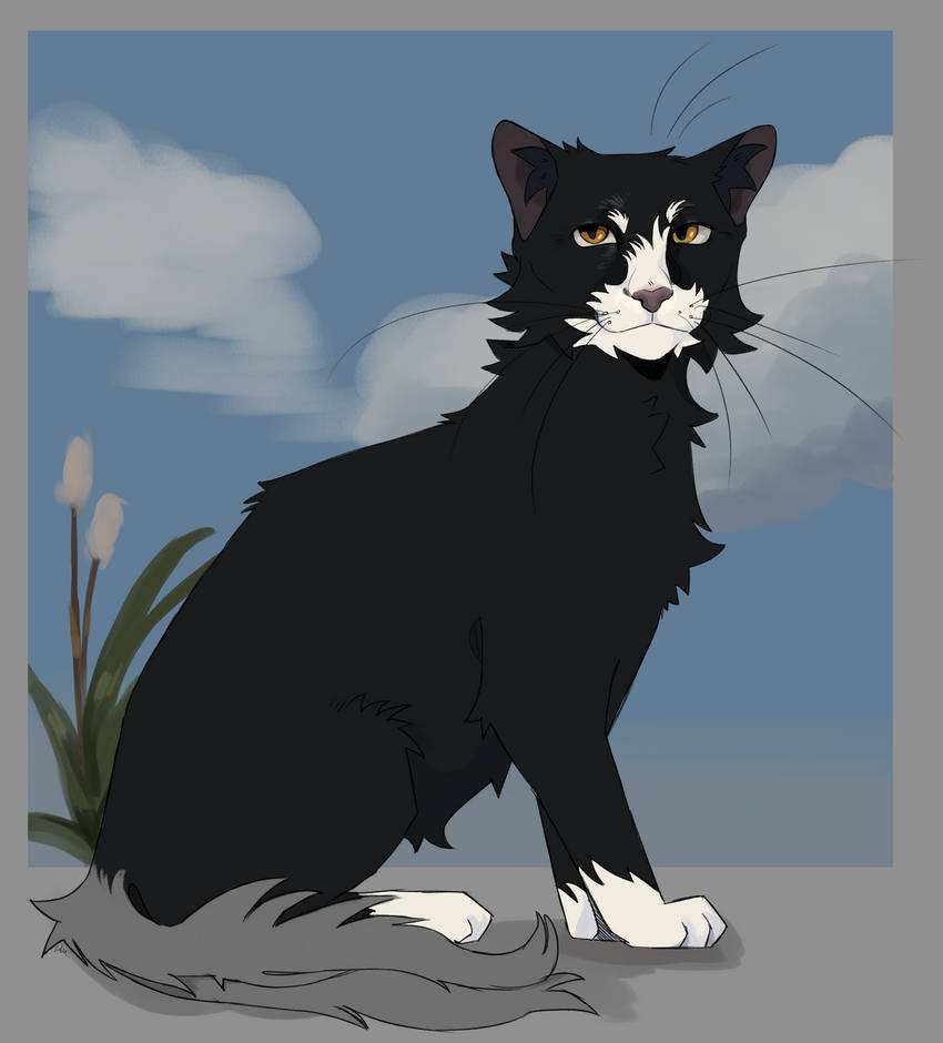Wolfsong, The RiverClan Deputy (yes two tails)