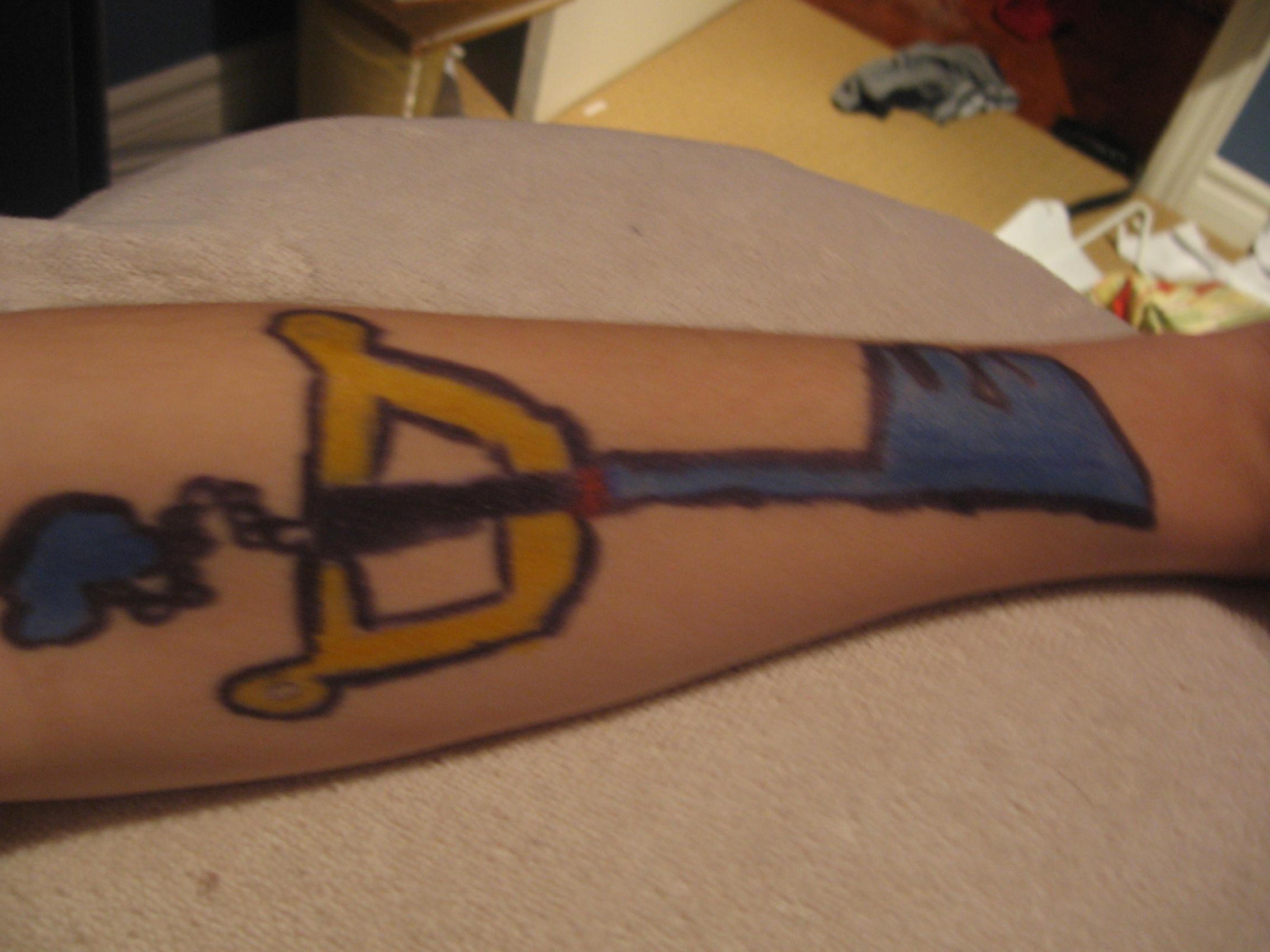 Kingdom Key Tattoo by