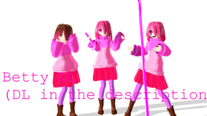 [MMD - Betty - DL] ( DL in the description) by ivanchulo
