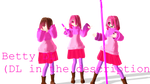 [MMD - Betty - DL] ( DL in the description)
