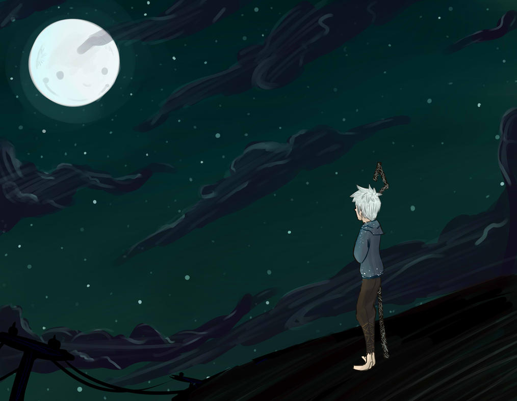 Talking to the Moon - Jack Frost by Anna-Phase on DeviantArt