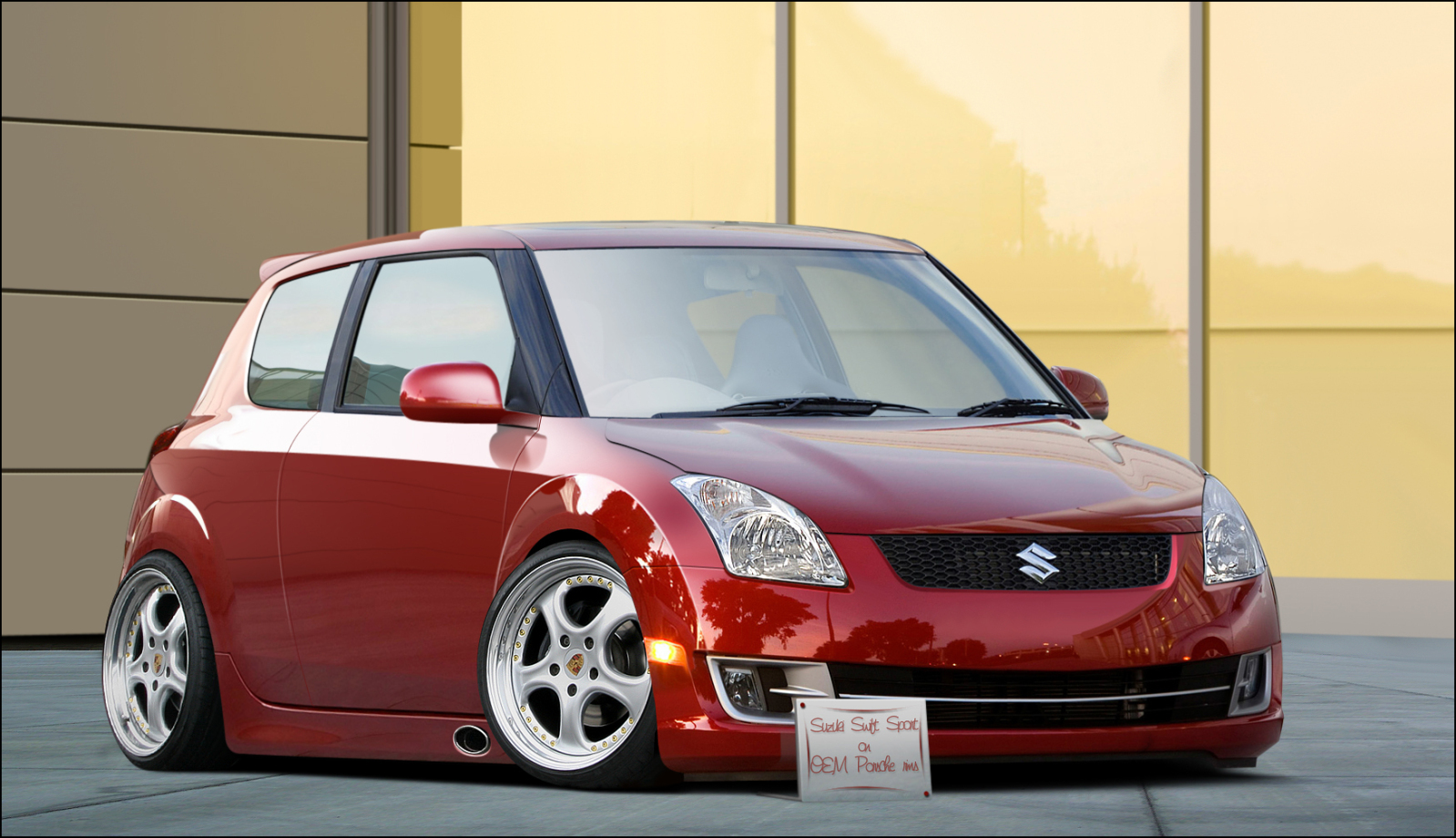 Suzuki Swift Sport Cleanstyle By Leemansj On Deviantart