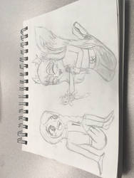 Savannah meets Jade  by TheHippyGeekEmo