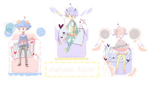 CUPIDS NOTE  [ AUCTION `Open' ] by KyMee-yah