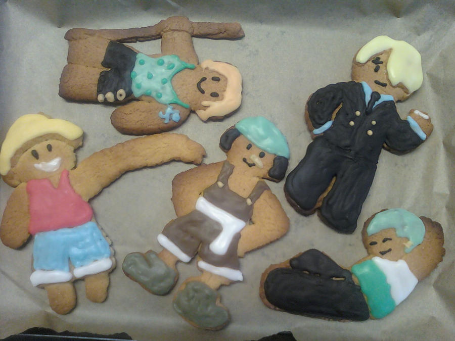 One piece Gingerbread by cactus-coffee