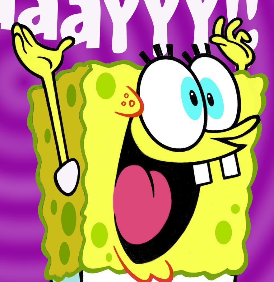 Spongebob birthday card by warpywoof on DeviantArt – Spongebob Birthday Cards