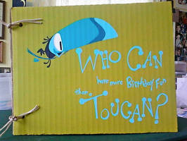 Toucan Birthday card for Mom by warpywoof