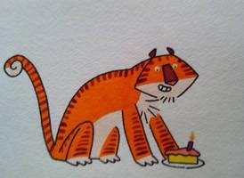 Tigercake by warpywoof