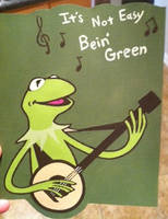 Kermit card by warpywoof