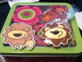 Lioncookies by warpywoof