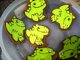 Dino-mite! by warpywoof