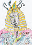 Nyarlathotep as the Black Pharaoh
