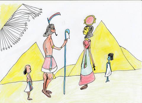 Shu and Tefnut
