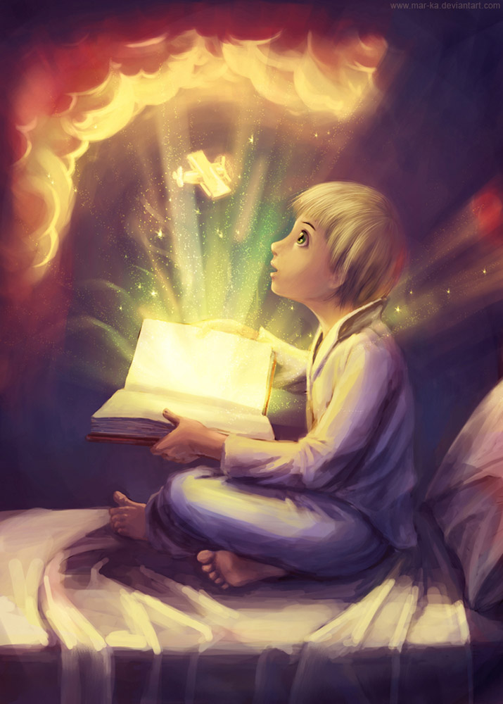Magic book by Mar-ka