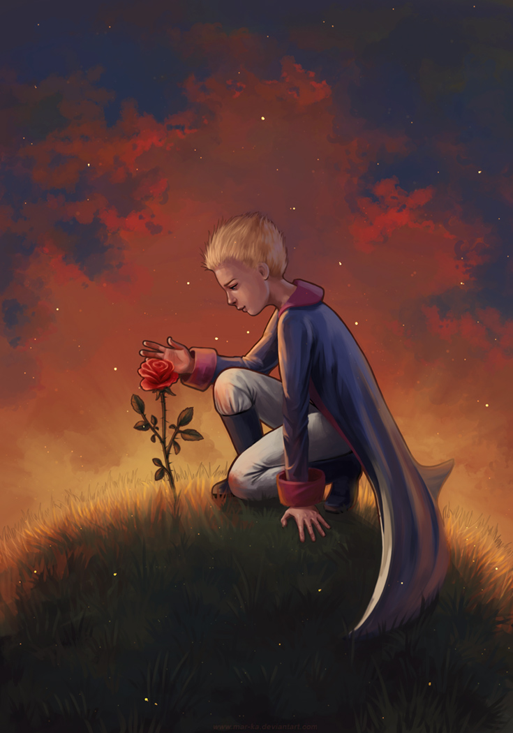 The Little Prince by Mar-ka