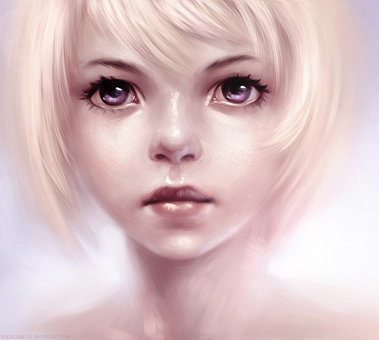 girl by Mar-ka