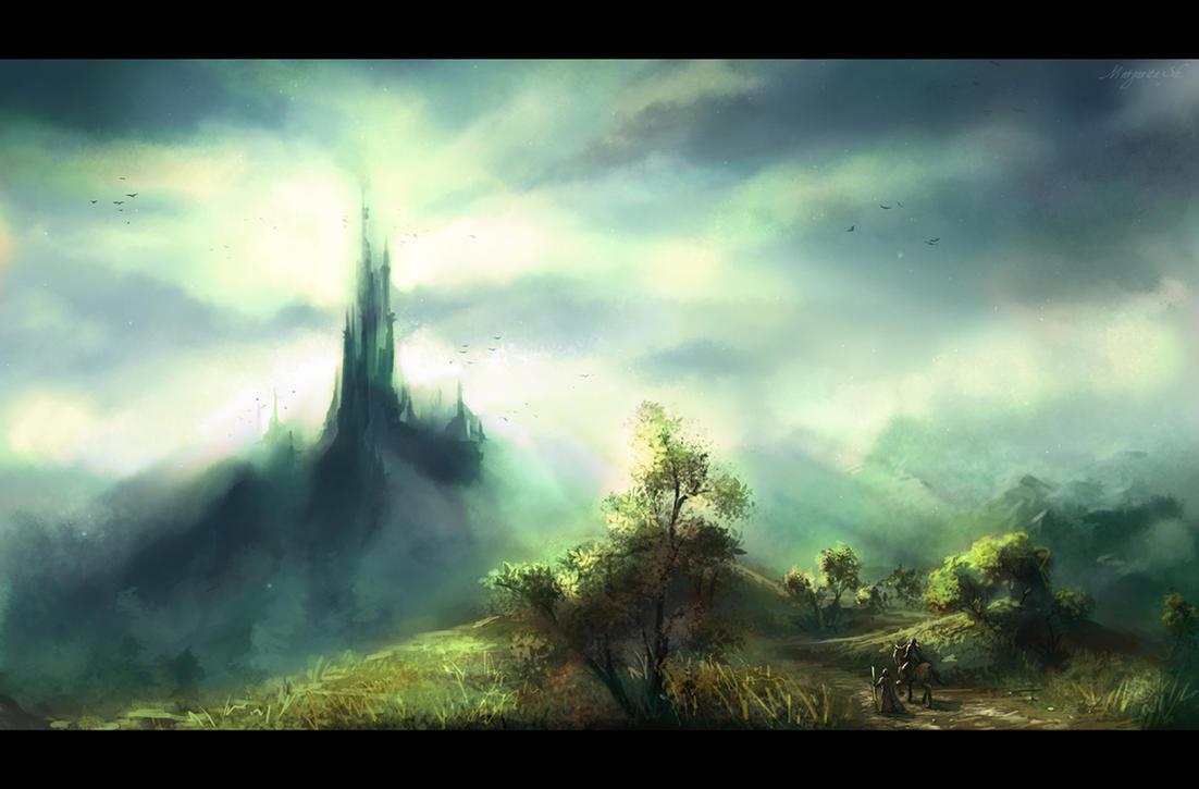 Castle by Mar-ka