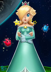 3 Princesses: Rosalina by BabyVegeta