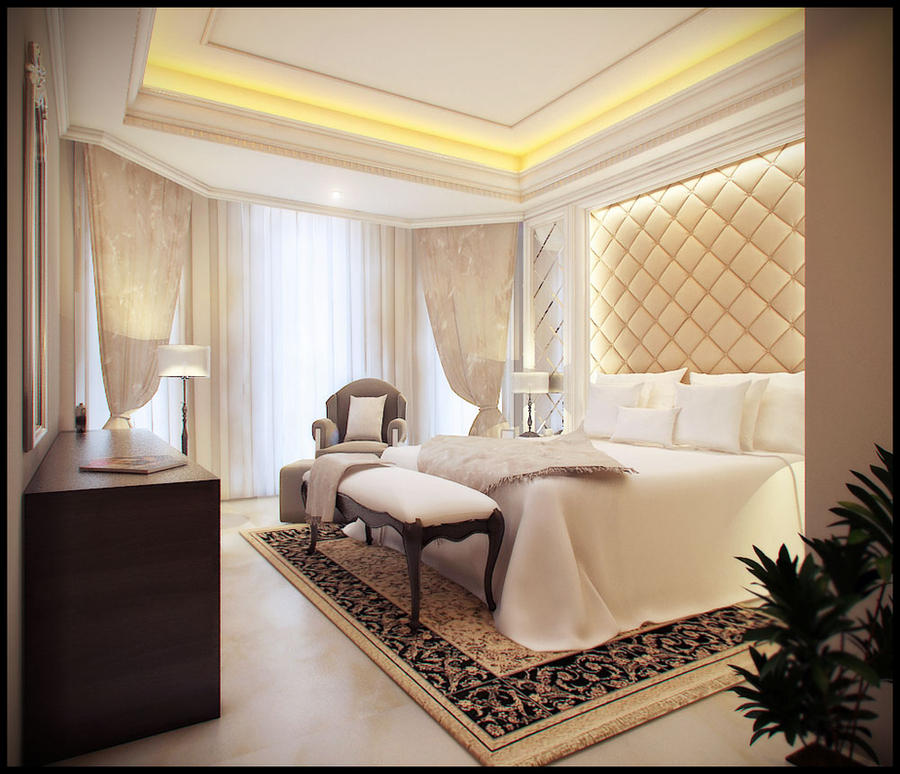 Bedroom classic style by jaxpc on deviantart for Luxury classic bedroom designs