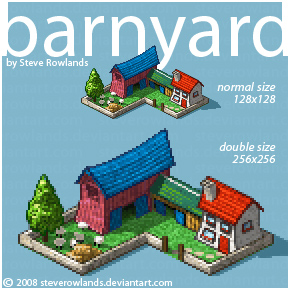 barnyard by SteveRowlands